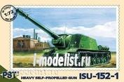 Pst 72007 1/72 self-Propelled gun ISU-152-1