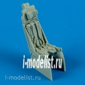 QB48 485 Quickboost 1/48 Ejection seat for J-35 Draken seat with safety belts