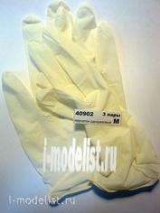 40902 ZIPmaket disposable Gloves, 3 pairs, size M