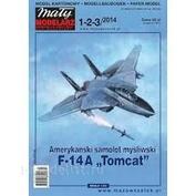 MM 1-2-3/2014 Maly Modelarz Бумажная модель F-14 Tomcat