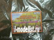 22-408 I-MODELIST Greens imitation of vegetation. Light green 20g №3