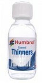 7430 Humbrol Растворитель для эмалевой краски, 125 мл