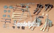 35111 Tamiya 1/35 Set of weapons German soldiers (24 species weapons)