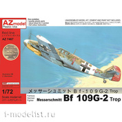 AZ7467 AZ Model 1/72 Самолет Messerschmitt Bf 109G-2
