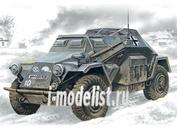 72431 ICM 1/72 Sd.Kfz.260- германский бронеавтомобиль радиосвязи