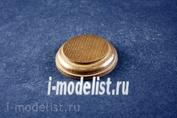 PL27 Plate Подставка для миниатюры (цвет-карамель) круглая Основание - 6 см. , верхушка - 4,5 см.