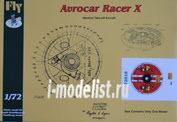 FLY72018 Fly 1/72 Avrocar Racer X RS models
