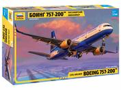 7032 Звезда 1/144 Пассажирский авиалайнер Боинг 757-200