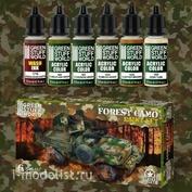 10273 Green Stuff World Набор акриловых красок