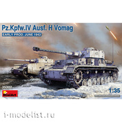 35302 MiniArt 1/35 Танк Pz.Kpfw.IV Ausf. H Vomag, ранняя версия (Июнь 1943)