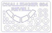 14613 KV Models 1/144 Маска для CHALLENGER CL 601 / 604 + маски на диски и колеса