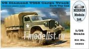 35803 Mirror-models 1/35 US Diamond T968 Cargo Truck Hard Top Cab