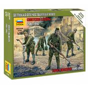 6108 Звезда 1/72 Советские саперы 1941-1942 (для игры
