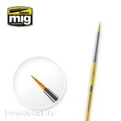 AMIG8611 Ammo Mig Round synthetic brush 3/0