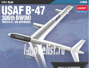 12618 Academy 1/144 Cамолет USAF Boeing B-47