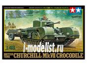 32594 Tamiya 1/48 Churchill Mk.VII Crocodile