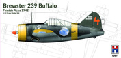 72011 Hobby 2000 1/72 Самолет Brewster 239 Buffalo Finnish Aces