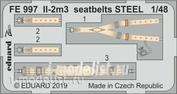 FE997 Edward 1/48 Il-2m3 steel belts