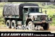 13293 Academy 1/35 R.O.K. Army K511A1 2.5ton Cargo Truck