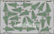 73438 Eduard 1/72 Фототравление для Leaves Fern / kaprad colour