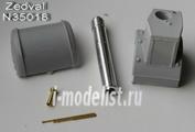 N35018 Zedval 1/35 Набор деталей для КВ-2 выпуска 1941/1942 г.