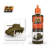 AK182 AK Interactive Грунтовка оливковая (OLIVE DRAB PRIMER), 60 мл.