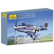80268 Heller 1/72 Самолет P-51 Mustang