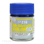 GX216 Gunze Sangyo Краска Mr.Hobby Mr.Metallic Color GX: Тёмно-синий металлик, 18 мл.