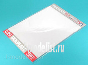 70126 Tamiya Пластик прозрачный, толщина 0,2мм, размер В4 (364х257мм) 5 листов