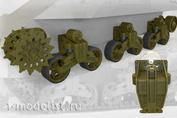35037 Fury Models 1/35 Набор для сборки подвески для американского танка M3 Lee/Grant