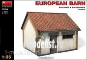 MiniArt 1/35 35534 European barn