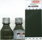61009 akan Acrylic enamel (semi-gloss) RLM: 74 Grey-green (Graugruen)