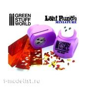 1347 Green Stuff World Инструмент для создания листьев дуба, светло-фиолетовый / Miniature Leaf Punch LIGHT PURPLE