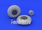 632061 Eduard 1/32 Mosquito FB Mk.IV wheels
