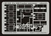 48532 Eduard 1/48 Фототравление Fw 200 Condor antennas