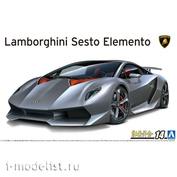 06221 Aoshima 1/24 '10 Lamborghini Sesto Elemento