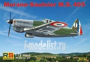 92152 RS Models 1/72 Morane Saulnier MS.405