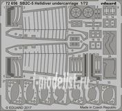 72656 Eduard 1/72 Фототравление для SB2C-5 Helldiver шасси