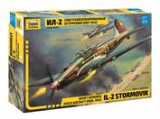 7279 Звезда 1/72 Советский бронированный штурмовик Ил-2 (обр. 1942 г.)