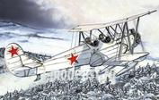 P72012 Kpmodels 1/72 Polikarpov Po-2 with skies