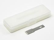 74101 Tamiya Стамесочные запас. лезвия для 74098 (10шт, толщина 0.55мм). Удобны для сглаживания поверхностей и др.работ, в пласт. корп.