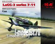 48093 ICM 1/48 LaGG-3 series 7-11, Soviet fighter of world war II