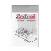 A48001 Zedval 1/48 ПВД для Su-27