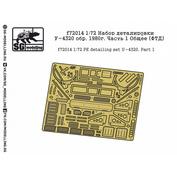 F72014 New Penguin 1/72 Set detailing U-4320 arr. 1980. Part 1 General (TBF))
