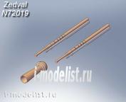 N72019 Zedval 1/72 Набор деталей для Т-26 обр. 1931г.