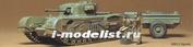 35100 Tamiya 1/35 Английский танк Churchill Crocodile с 2 фигурами