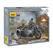 6142 Zvezda 1/72 German motorcycle BMW R-12 (For the game