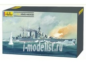 81081 Heller 1/400 Корабль Линкор Худ