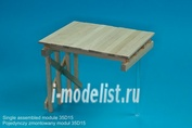 35D15 RB Model 1/35 WW II Wooden bridge