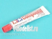 87068 Tamiya Polishing Compound Coarse. Coarse grinding paste for initial surface treatment.